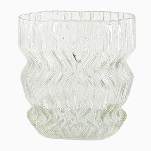 Vaso grande Mid-Century in vetro di Tapio Wirkkala per Rosenthal, Germania, anni '60