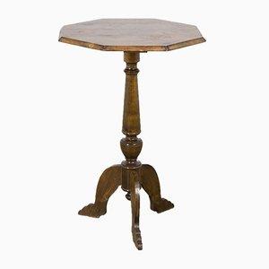 Table d'Appoint Octogonale Ancienne, Suède