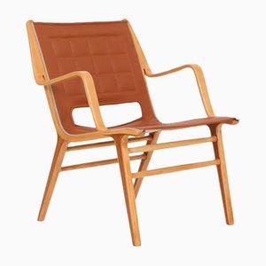 Club chair AX 6060 di Peter Hvidt & Orla Mølgaard-Nielsen per Fritz Hansen, anni '50