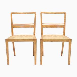 Chaises d'Appoint par Erik Chambert pour AB Chamberts Möbelfabrik, années 30, Set de 2