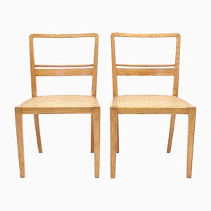 Side Chairs by Erik Chambert for AB Chamberts Möbelfabrik, 1930s, Set of 2