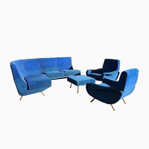 Italienisches Triennale Sofa von Marco Zanuso, 1950er