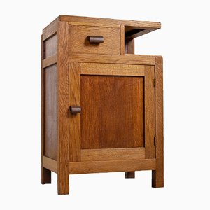 Art Deco Oak Cabinet, 1930s