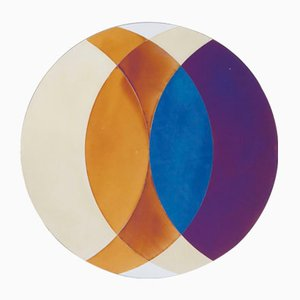 Miroir Transience Small Circle par Lex Pott & David Derksen pour Transnatural Label