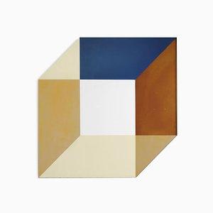 Espejo Transience pequeño cúbico de Lex Pott & David Derksen para Transnatural Label
