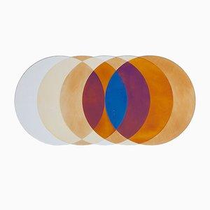 Großer runder Transience Spiegel von Lex Pott & David Derksen für Transnatural Label