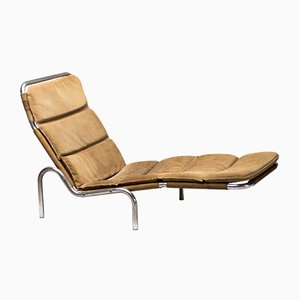Danish Chaise Lounge by Erik Ole Jørgensen for Georg Jørgensen & Søn, 1960s