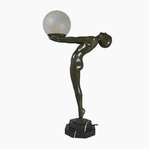 Lampe Sculpturale Art Déco de Max Le Verrier, années 20