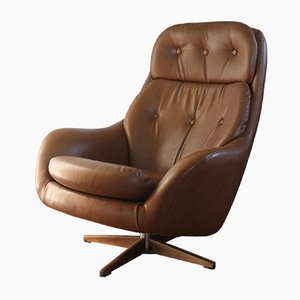 Swedish Swivel Lounge Chair from Swedfurn, 1960s
