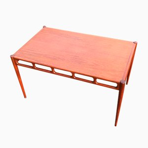 Mid-Century Teak Coffee Table by William Watting for A/S Mikael Laursen