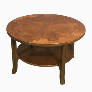 Teak Round Coffee Table, 1970s