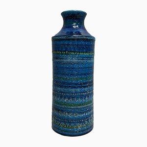 Vase en Céramique par Aldo londi pour Bitossi, Italie, années 70