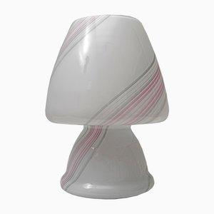 Lampe de Bureau Champignon en Verre de Murano de Maestri Muranesi, années 80