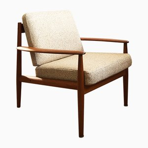 Mid-Century Danish Teak Armchair by Grete Jalk for France & Søn / France & Daverkosen, 1960s