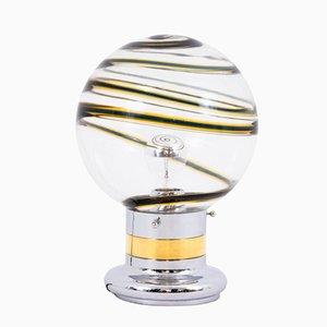 Lámpara de mesa de cristal de Murano de Toni Zuccheri, años 70