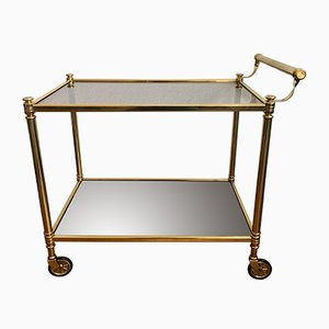 Mid-Century Golden Trolley