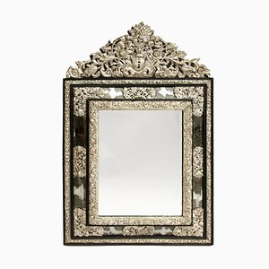 19th Century Regency Style Silvered Brass Mirror
