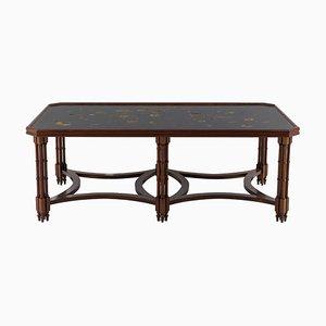 Table Basse en Placage d'Acajou par Madeleine Castaing, années 50
