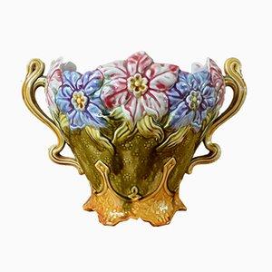 Vaso da fiori Art Nouveau antico