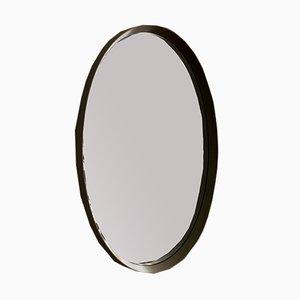 Espejo de pared grande ovalado, años 70