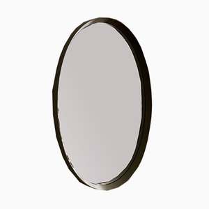 Large Oval Wall Mirror, 1970s