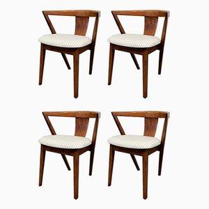 Art Déco Esszimmerstühle von Greaves & Thomas, 1940er, 4er Set