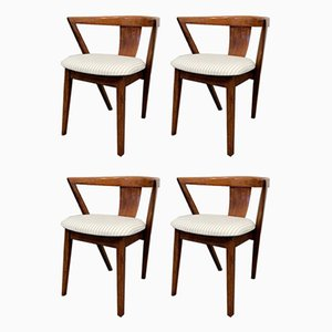 Art Deco Style Dining Chairs from Greaves & Thomas, 1940s, Set of 4