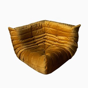 Vintage French Togo Corner Sofa by Michel Ducaroy for Ligne Roset