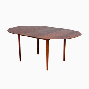 Mid-Century Danish Model 311 Dining Table by Peter Hvidt & Orla Mølgaard-Nielsen for Søborg Møbelfabrik