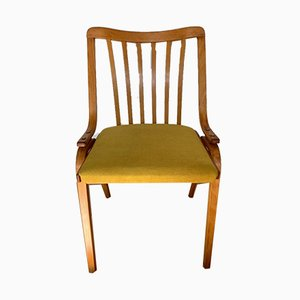 Mid-Century Yellow Dining Chair from Drevopodnik Holesov