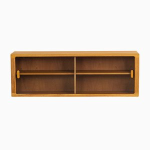 Danish Teak Floating Wall Unit from CFC Silkeborg, 1960s