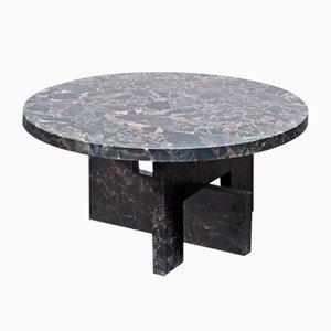 Mesa baja de mármol de Sébastien Caporusso
