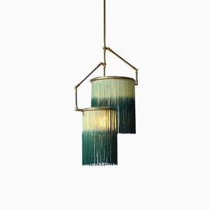 Lampada Charme verde di Sander Bottinga