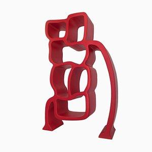 Red Lobster Regal aus Leder von Werner Neumann