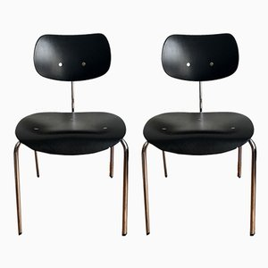 Model SE 78 Side Chairs by Egon Eiermann for Wilde and Spieth, 1990s, Set of 2