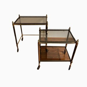 Mid-Century Trolleys, 1970s, Set of 2