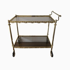 Neoclassical Golden Bar Trolley, 1960s
