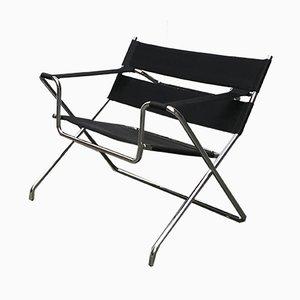 Chaise Pliante Modèle D4 Vintage par Marcel Breuer pour Tecta, Allemagne