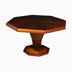 Art Deco Rosewood Coffee Table, 1930s