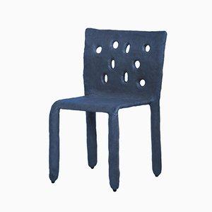 Roter skulpturaler Stuhl von Victoria Yakusha