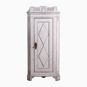 19th Century Gustavian Style Carved Corner Cabinet