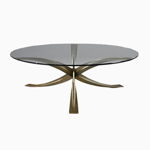 French Coffee Table by Michel Mangematin, 1970s