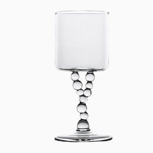 Bicchiere da vino della serie Alchemica di Simone Crestani