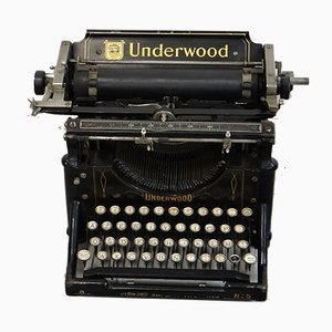Antique Typewriter from Underwood &Co