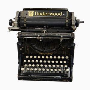 Máquina de escribir antigua de Underwood & Co