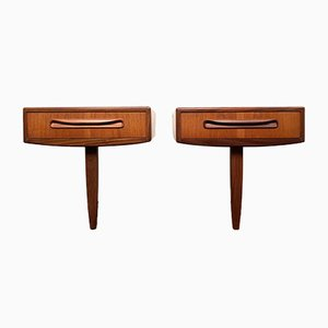 Nightstands by Victor Wilkins for G Plan, 1960s, Set of 2
