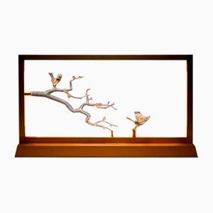 Lampada da tavolo Bird di E-sumi Collection di Simone Crestani