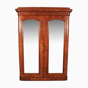 Antique Victorian Walnut Wardrobe