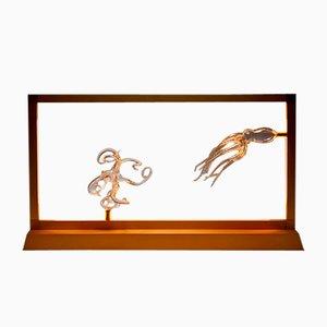 Octopus Tischlampe aus der E-Sumi Kollektion von Simone Crestani