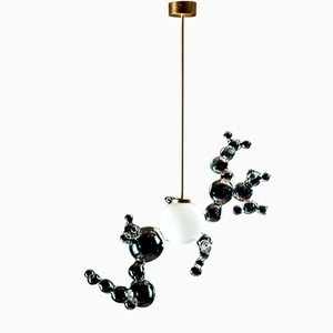 Freiförmiger Bubble Kronleuchter von Simone Crestani